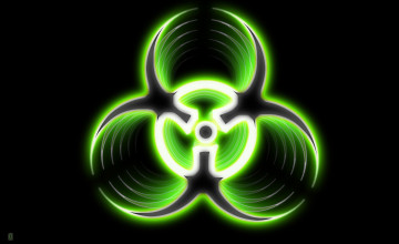 Toxic Symbol Wallpaper