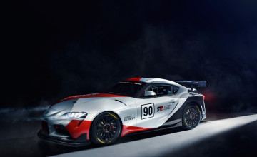 Toyota GR Supra GT4 Concept Wallpapers