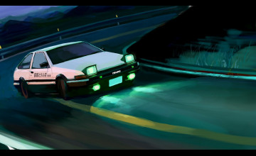 Toyota Sprinter Anime Wallpapers