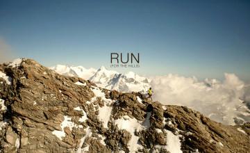 Trail Running Wallpaper