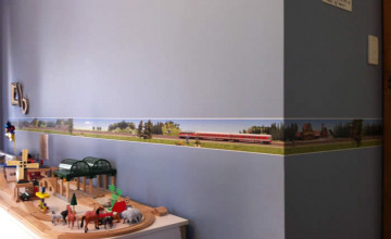 Train Wallpaper Border
