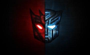 Transformers Logo Wallpaper