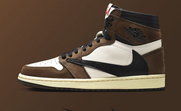 Travis Scott Jordan 1 Wallpapers