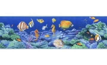 Tropical Fish Wallpaper Border