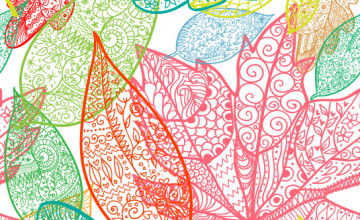 Tropical Leaf Wallpaper for Walls