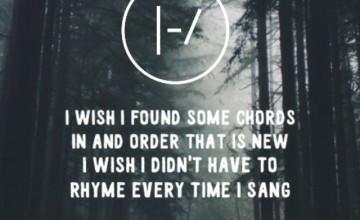 Twenty One Pilots Lyrics Wallpaper