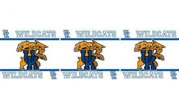 UK Wildcats Wallpaper Border