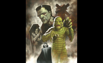 Universal Monsters Wallpaper