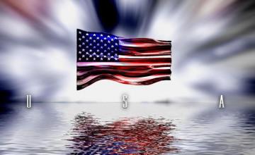 US Flag Wallpaper for Computer