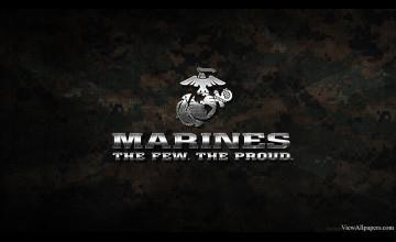 US Marines Logo Wallpaper