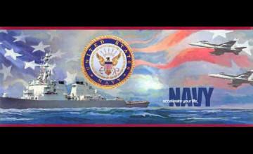 US Navy Wallpaper Border