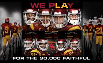 USC Football Desktop Wallpaper
