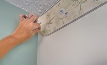 Using Fabric Softener to Remove Wallpaper