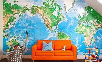 Using Maps as Wallpaper