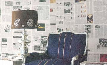 Using Newspaper as Wallpaper