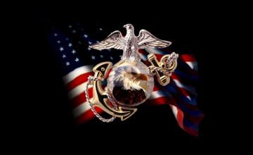 USMC Logo Wallpaper