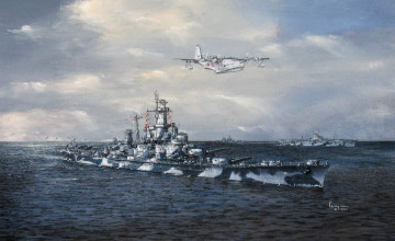 USS Alabama Wallpaper