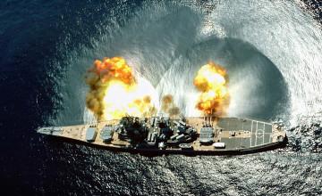 USS Iowa Wallpaper
