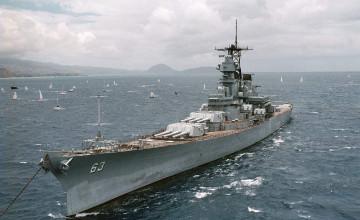 USS Missouri Wallpaper