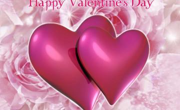 Valentine Hearts Wallpaper