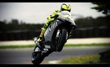 Valentino Rossi Wallpaper Yamaha