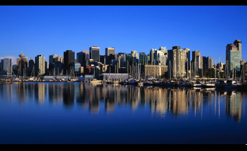 Vancouver Skyline Wallpaper