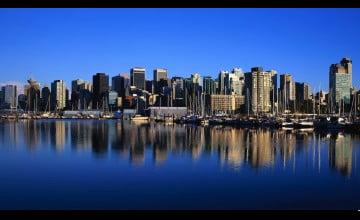 Vancouver Skyline Wallpaper