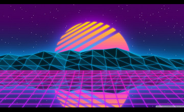 Vaporwave Wallpaper