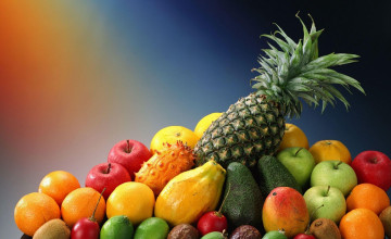 Vegetable Fruit Wallpaper for Desktop