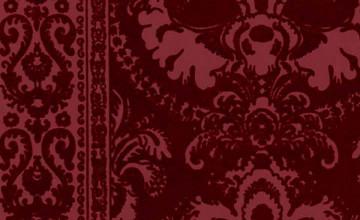 Velvet Flocked Wallpaper