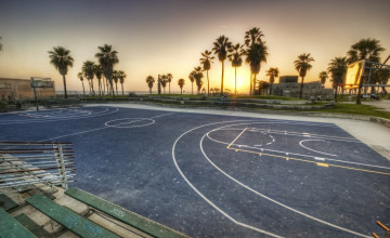 Venice Beach Basketball Wallpaper
