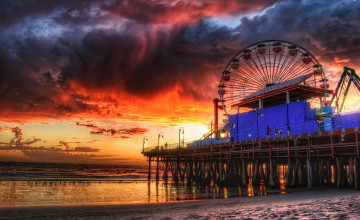 Venice Beach Pier Wallpapers