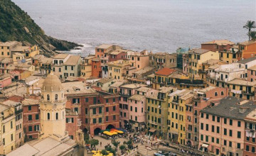 Vernazza Cinque Terre Italy Wallpapers