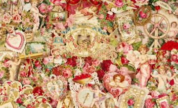 Victorian Valentine Wallpaper
