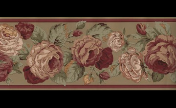 Victorian Wallpaper Border Patterns