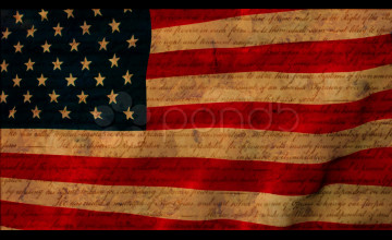 Vintage American Flag Wallpaper
