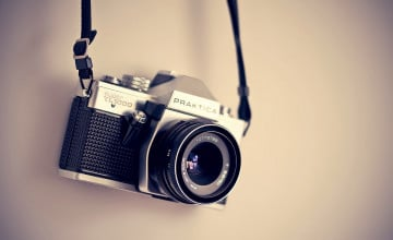 Vintage Camera Wallpaper
