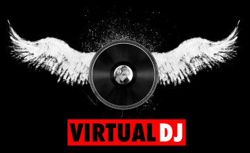 Virtual DJ Wallpaper