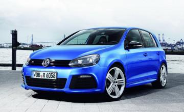 VW Golf R Wallpaper