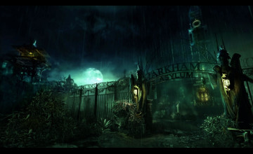 Wallpaper Batman Arkham Asylum