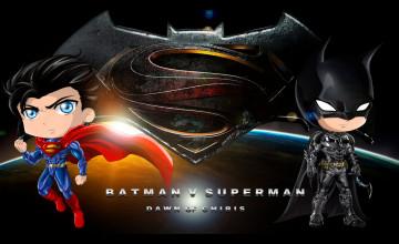 Wallpaper Batman v Superman QHD