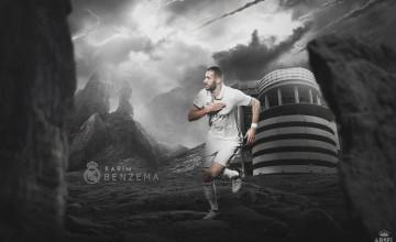 Wallpaper Benzema 2016