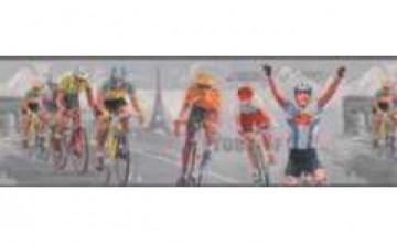 Wallpaper Border Bicycle