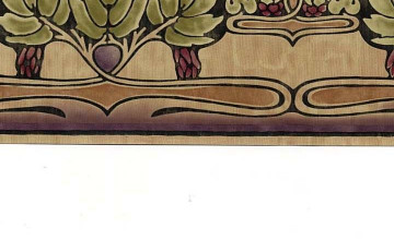 Wallpaper Borders Craftsman Style