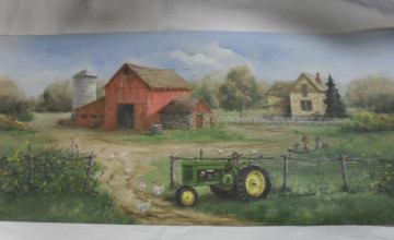 Wallpaper Borders Farm Theme