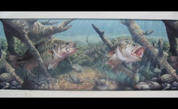 Wallpaper Borders Fishing Bass