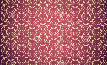 Wallpaper Burgundy and Beige