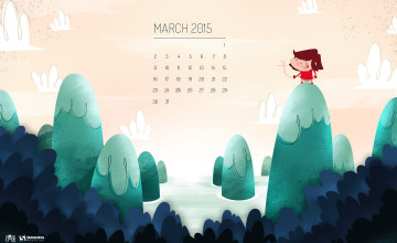 Wallpaper Calendar March 2016