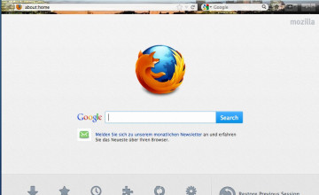 Wallpaper for Firefox Start Page