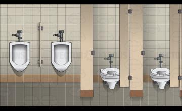 Wallpaper for Men\'s Bathroom